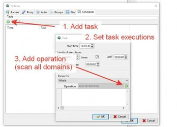 Adding task to scheduler
